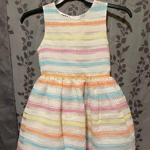 Blueberi Boulevard Girls Striped Dress